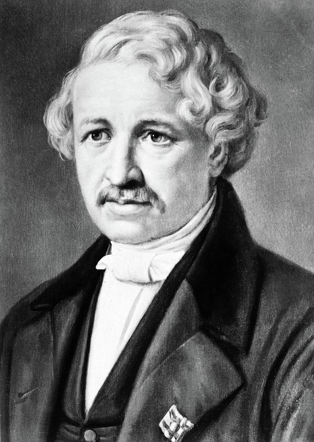 19th Century Painting - Louis Daguerre (1789-1751) by Granger