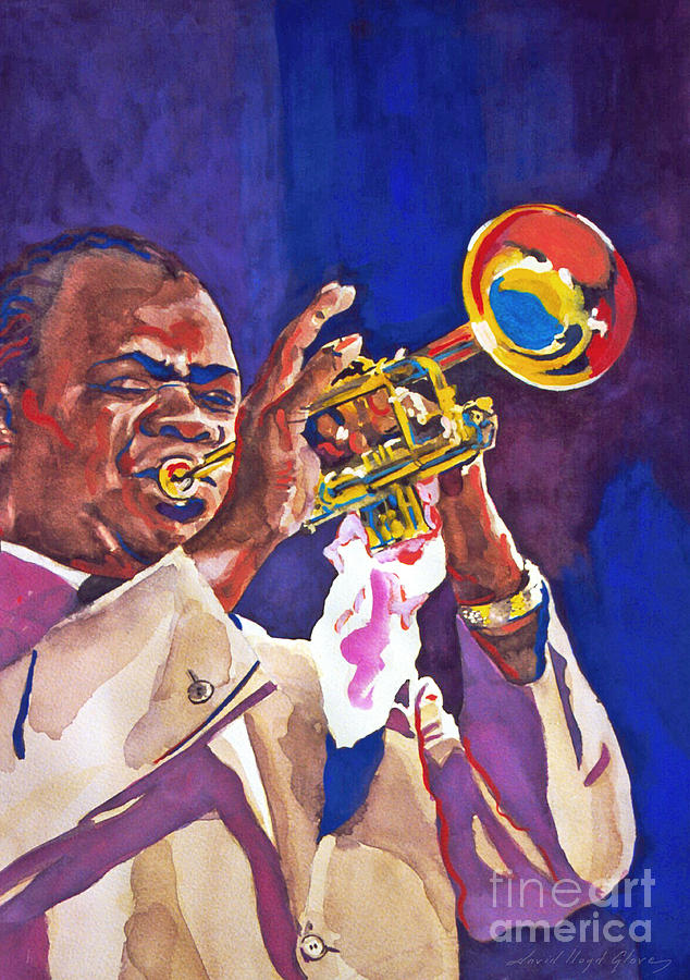 Louis Satchmo Armstrong Painting