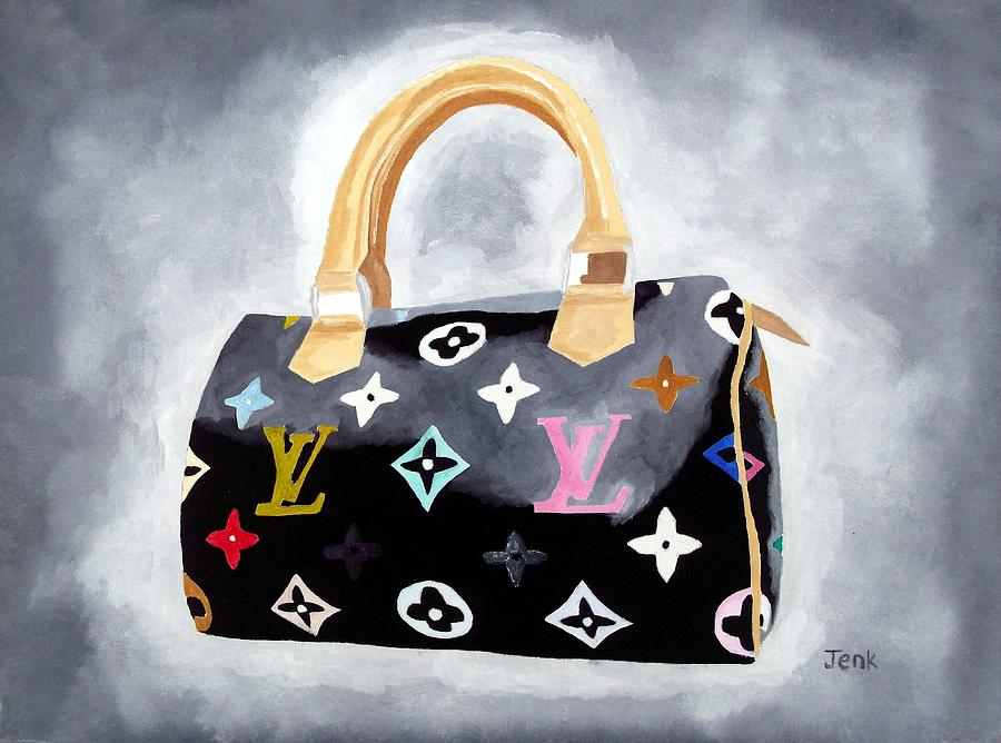 Louis Vuitton Painting - Louis Vuitton Study II by My Inspiration