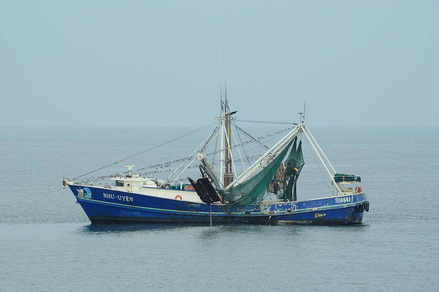 Louisiana Shrimp Trawler Photograph by Bradford Martin