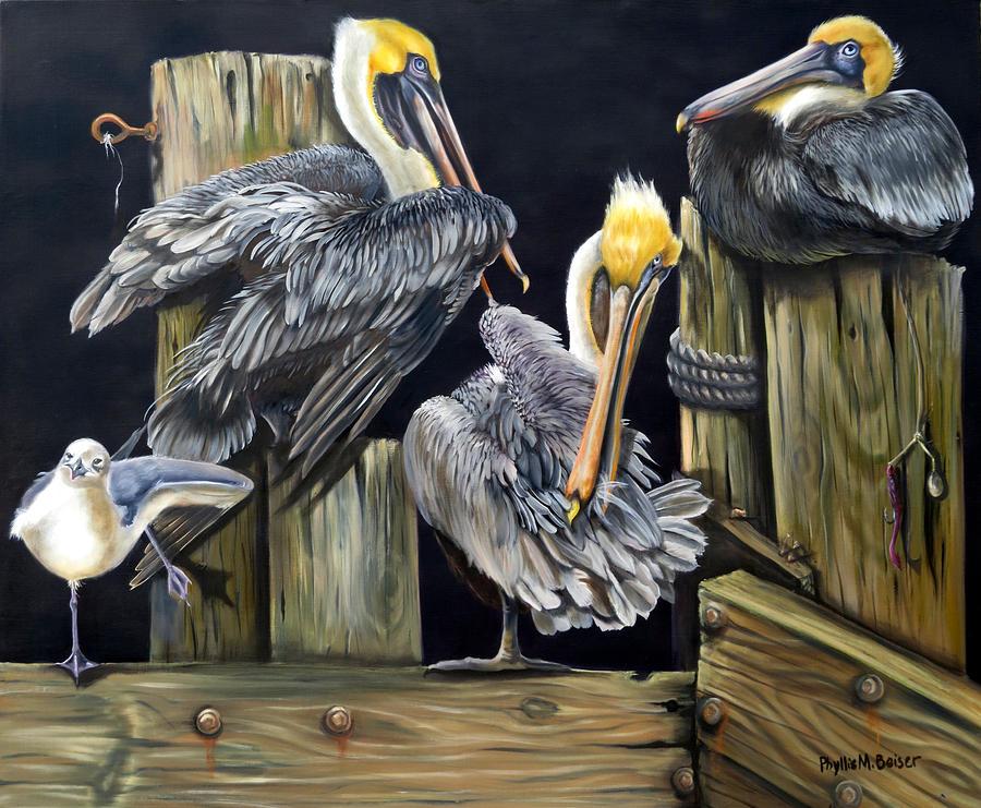 Animal Painting - Louisiane Berceuse by Phyllis Beiser