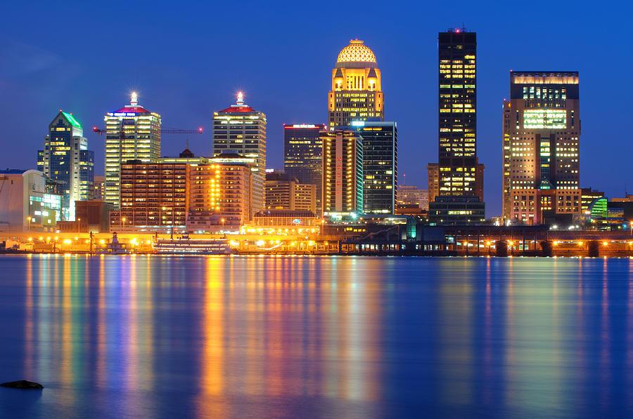 Louisville Cityscape / Skyline Photograph by DoxaDigital