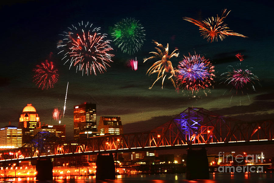 Louisville Kentucky Celebration Photograph By Darren Fisher