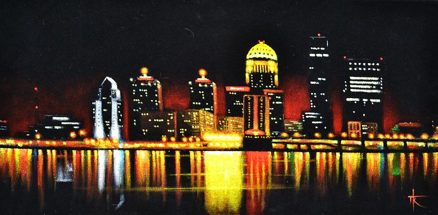 Louisville Painting By Thomas Kolendra