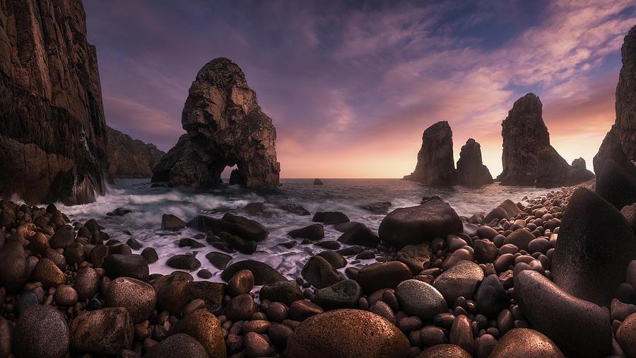 Sea Photograph - Louria?al by Carlos F. Turienzo