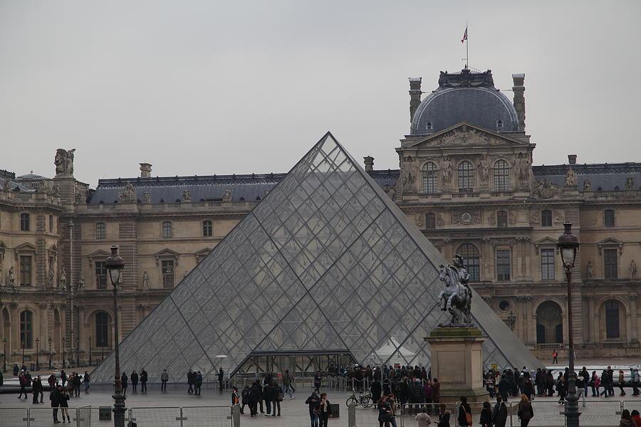 Paris Photograph - Louvre - Paris France - 011314 by DC Photographer