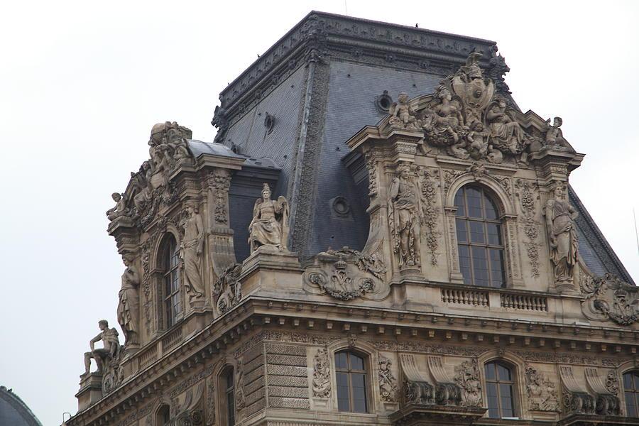Paris Photograph - Louvre - Paris France - 011328 by DC Photographer
