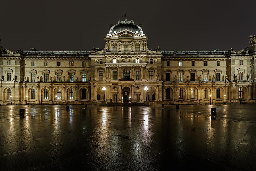 Architecture Photograph - Louvre.pavillon Richelieu by Rostislav Bychkov