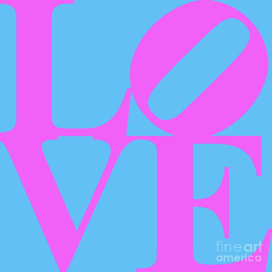 Love Digital Art - Love 20130707 Violet Blue by Wingsdomain Art and Photography
