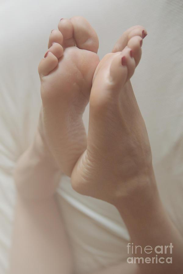 Feet Photograph - Love Affair by Tos