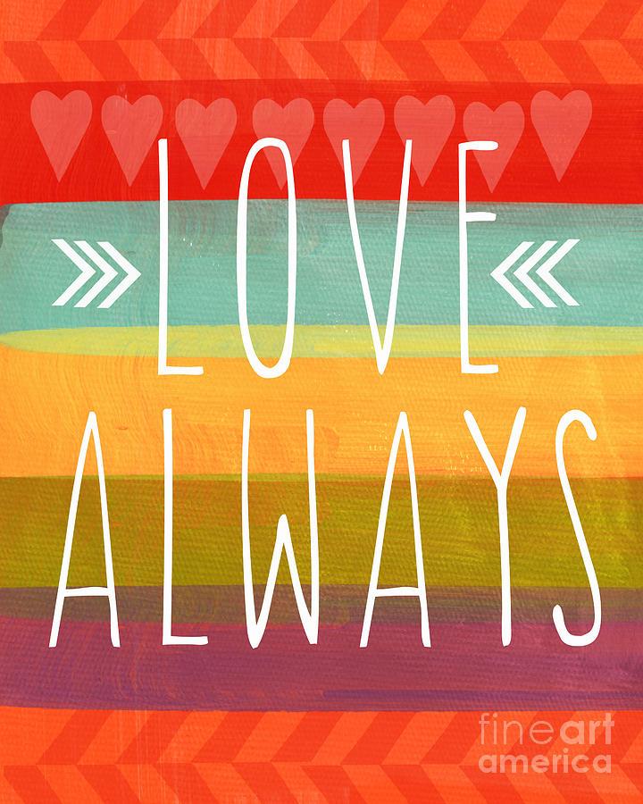Love Always Mixed Media