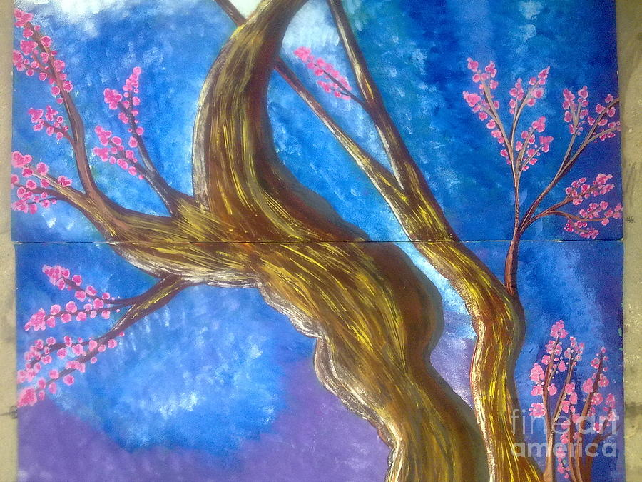 Love And Nature Painting - Love And Nature by Syeda Ishrat