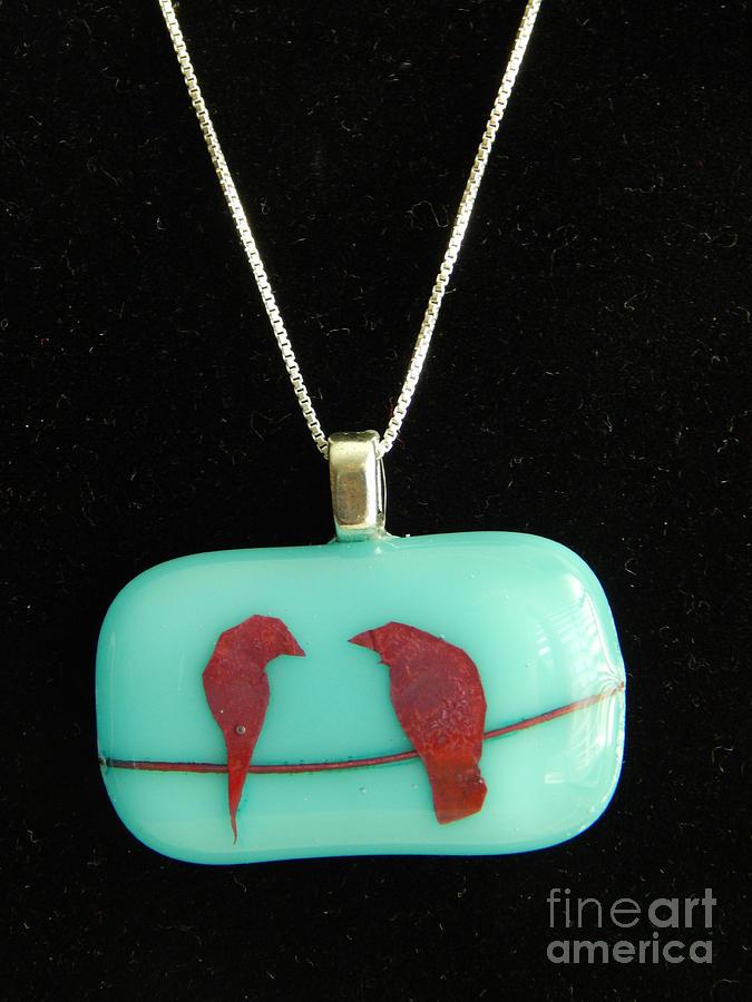 Love Birds by Patricia  Tierney