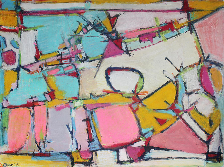 Abstract Painting Painting - Love Finds A Way by Hari Thomas