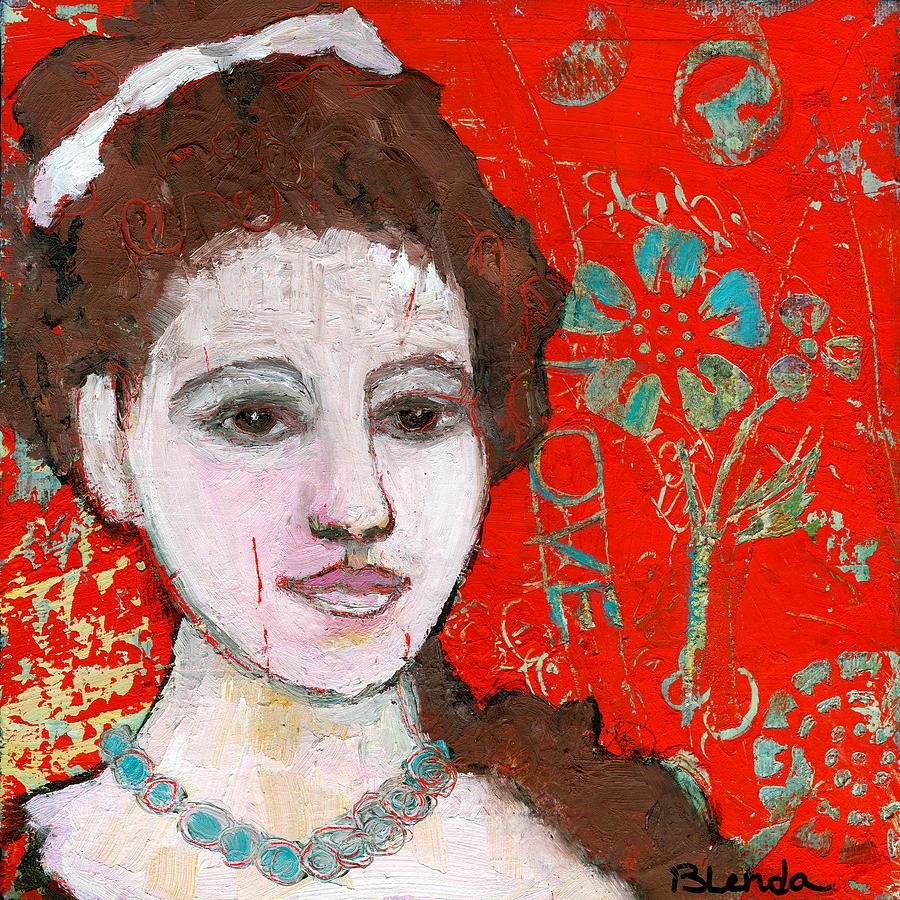 Painting Painting - Love Hurts By Blenda Studio by Blenda Studio