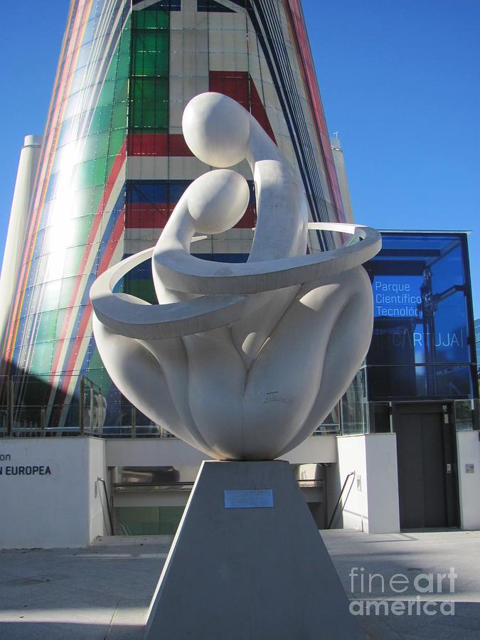 Cartuja Photograph - Love in Cartuja Sevilla by Greg Mason Burns