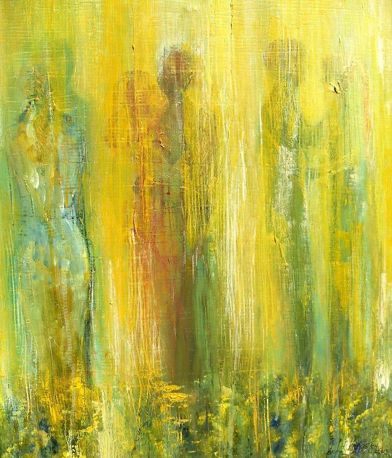 In Focus Painting - Love in Yellow by Carol P Kingsley