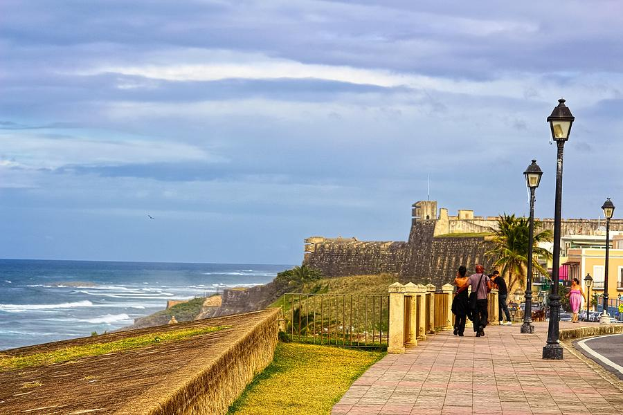 Photograph Photograph - Love Is In The Air At Old San Juan by Sandra Pena de Ortiz