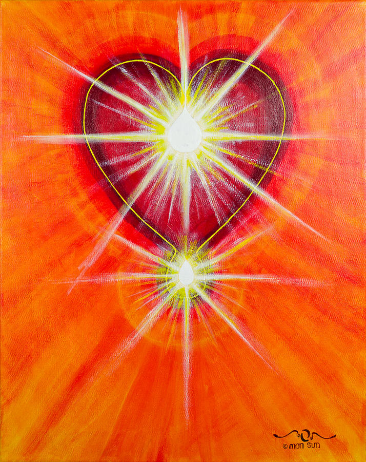 Love Painting - Love Is Light by Divinity MonSun Chan