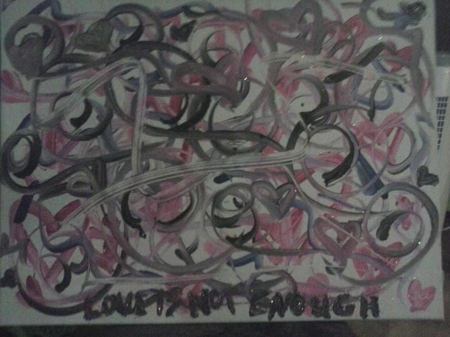 Love Is Not Enough Painting by Jaci Standridge