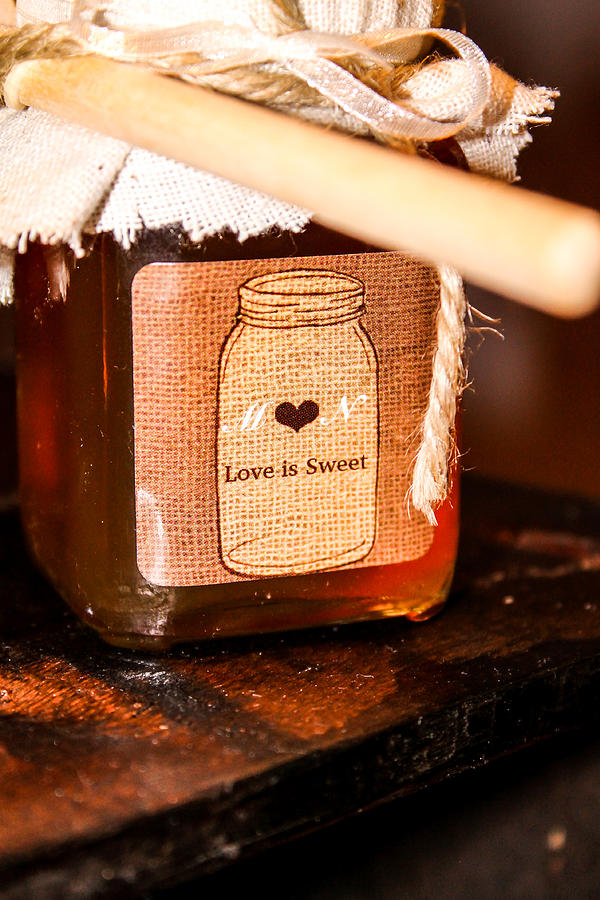 Honey Photograph - Love Is Sweet by Hannah Miller