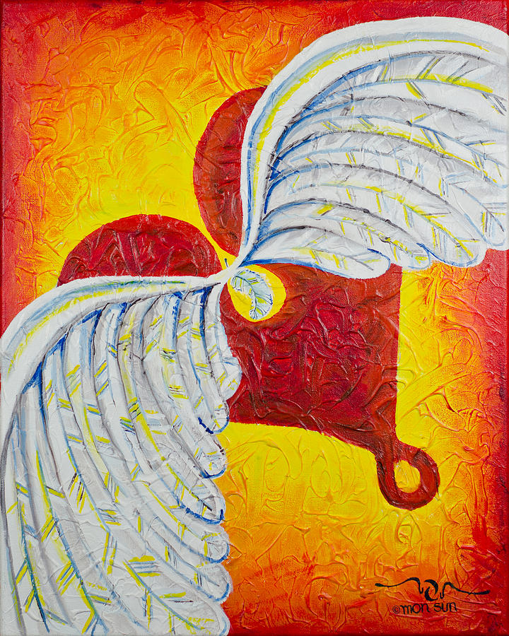 Divinity Painting - Love Is Taking Flight by Divinity MonSun Chan