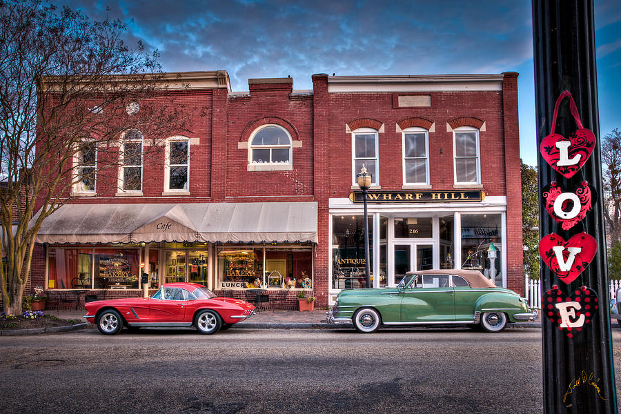 Love Main Street On Saturday Morning Photograph by Williams-Cairns Photography LLC