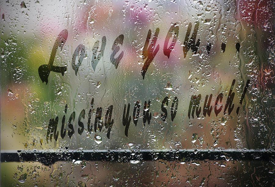 Rainy love painting