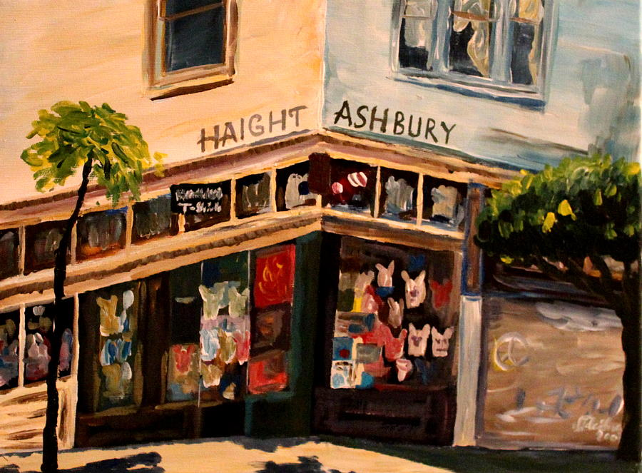 Image result for haight ashbury paintings