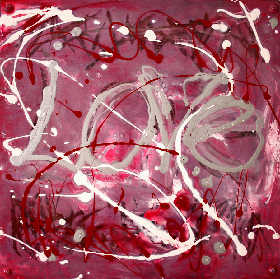 Love Painting - Love by Natalie Starnes
