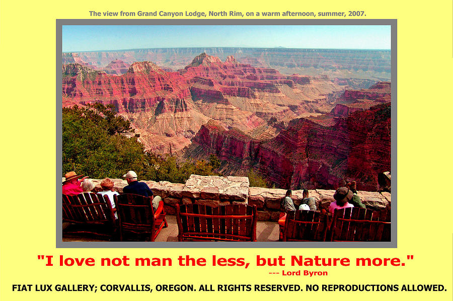 Grand Canyon Photograph - Love Nature by Michael Moore