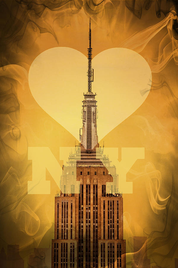 Love New York Digital Art