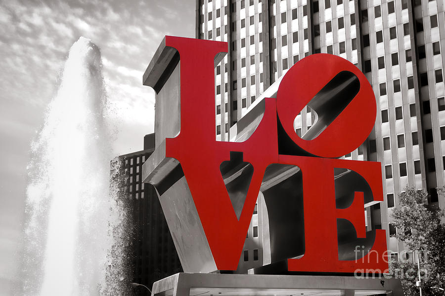Love Photograph - Love by Olivier Le Queinec