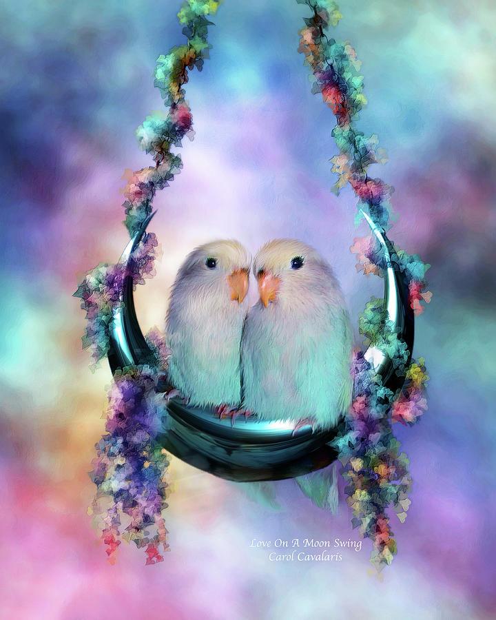Love On A Moon Swing by Carol Cavalaris