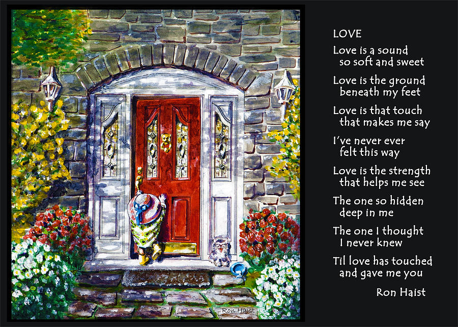 Love Painting - Love by Ron Haist
