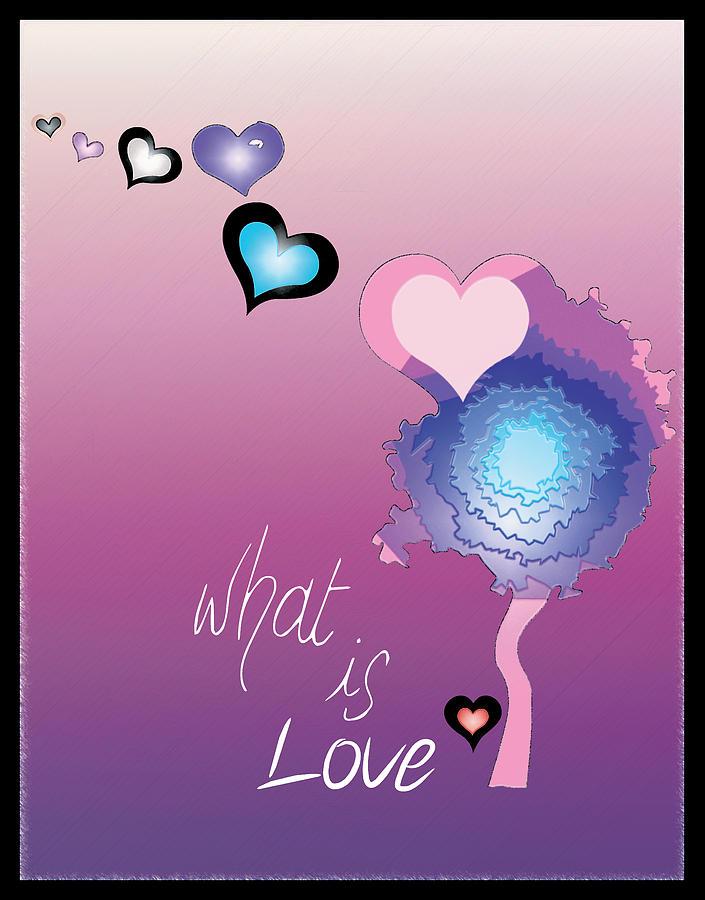 Love Digital Art - Love by Sara Ponte