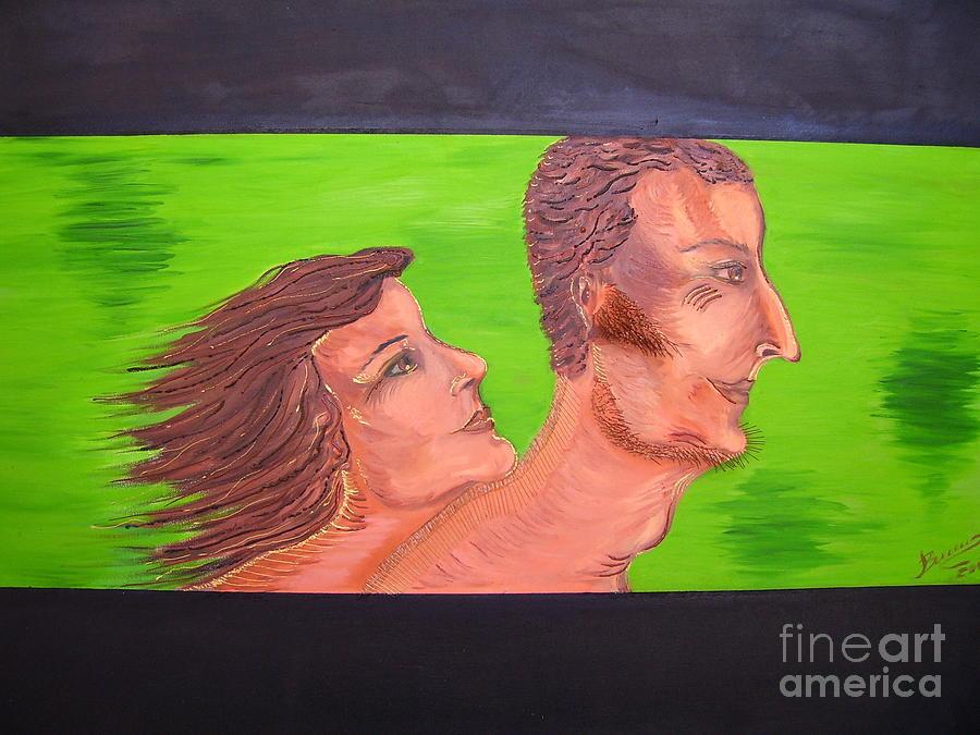 Mixed Media Painting - Love by Svetlana Vinokurtsev