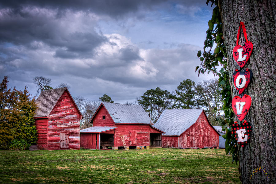 Smithfield Photograph - Love The Barns At Windsor Castle by Williams-Cairns Photography LLC