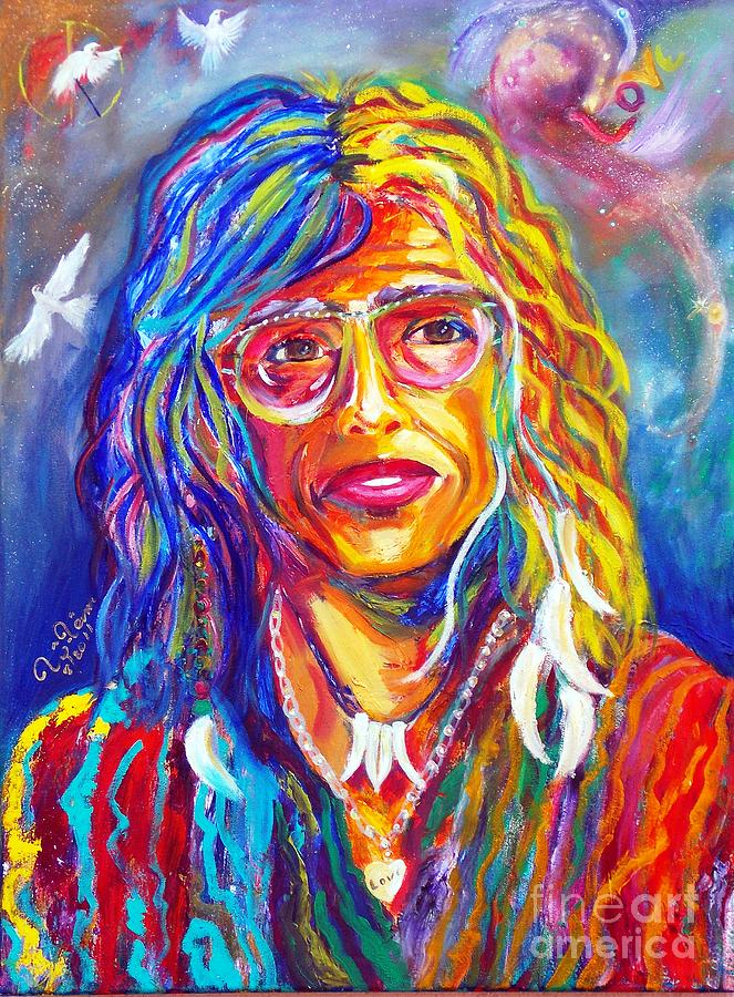 Steven Tyler Painting - Love by To-Tam Gerwe