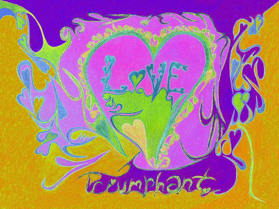 Abstractionist Photograph - Love Triumphant V3 by Kenneth James