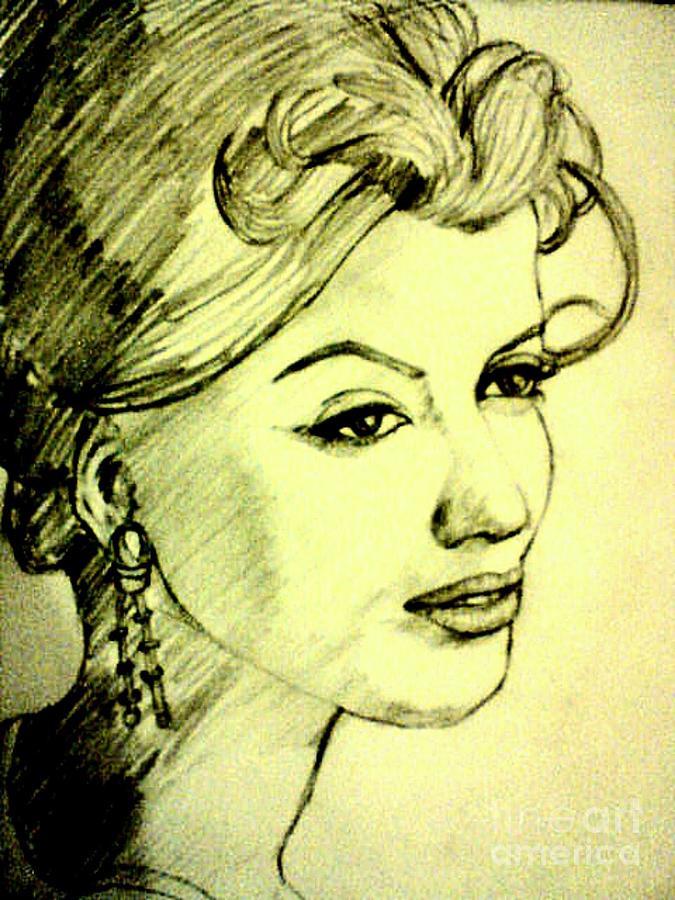 Love Drawing by Vandana Vitika