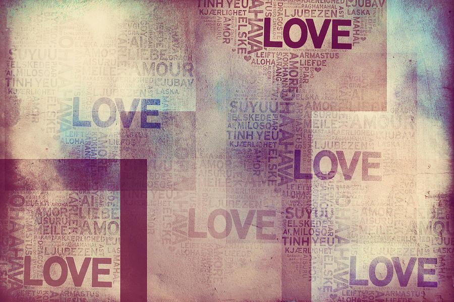 Love Vintage Ii Photograph By Jenny Rainbow