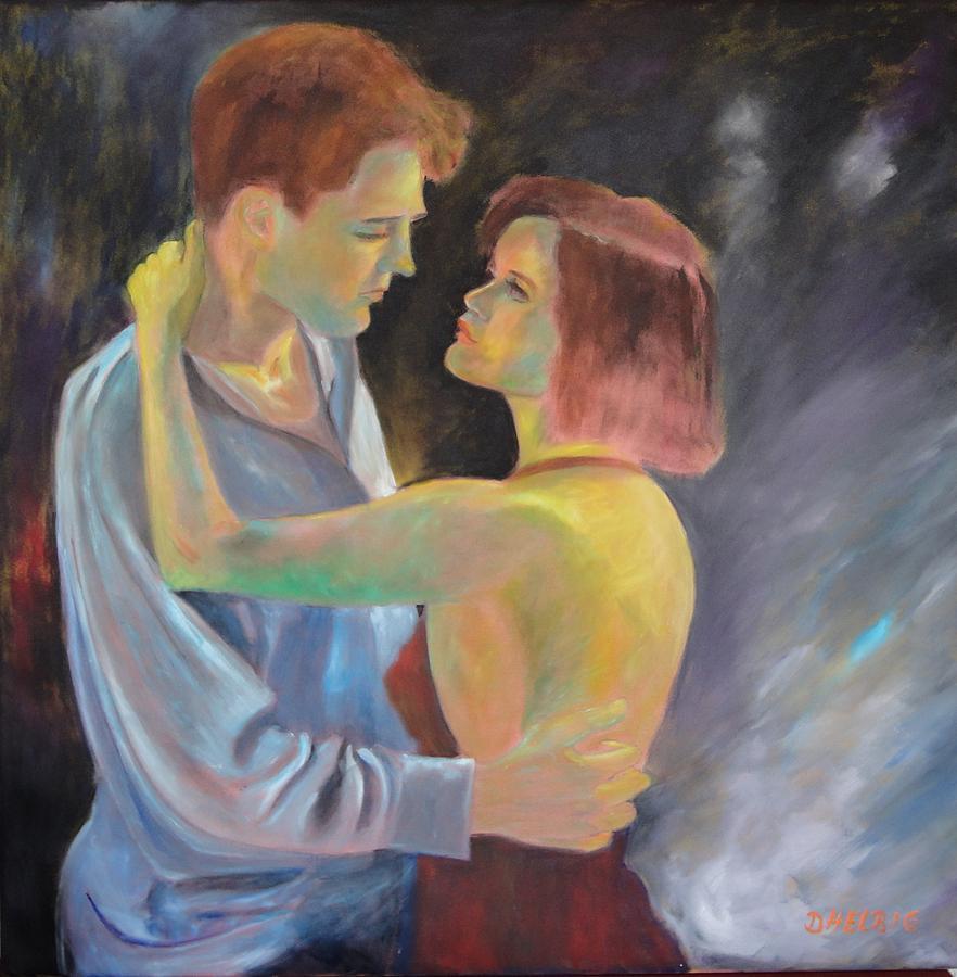 Loveaffair Painting by Dagmar Helbig