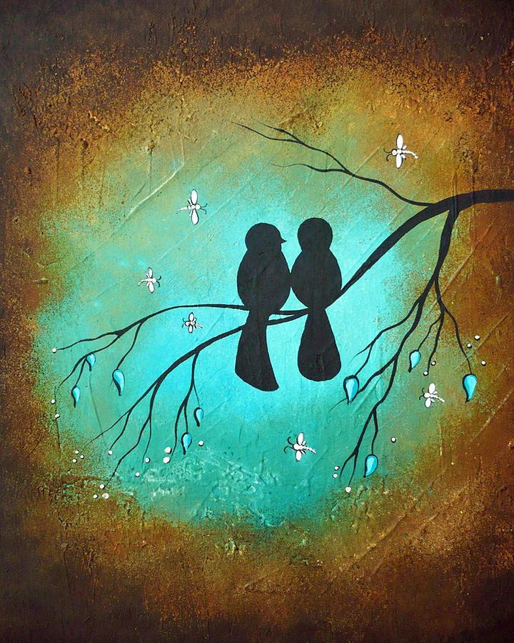 Lovebirds by Charlene Murray Zatloukal
