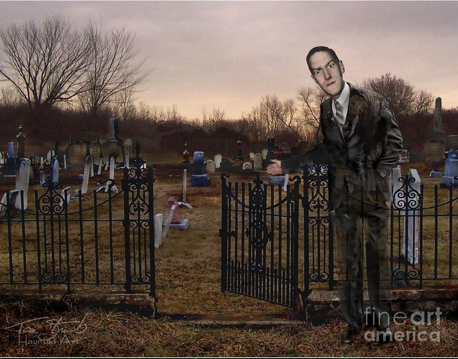 Howard Phillips Lovecraft Photograph - Lovecraft by Tom Straub