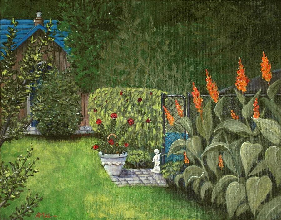 Interior Painting - Lovely Green by Anastasiya Malakhova