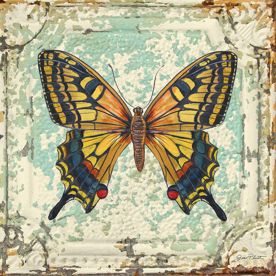 Image result for yellow butterfly painting