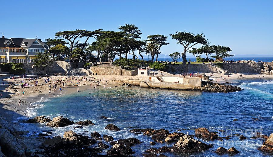 California Photograph - Lovers Point Beach by Susan Wiedmann