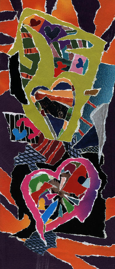 Love's It Mixed Media - Loves It by Kenneth James