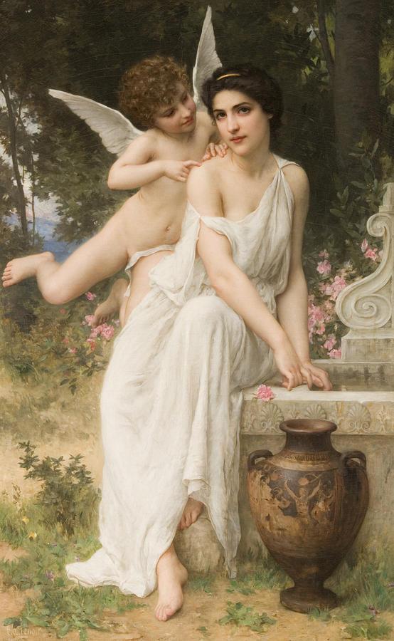 Sensuous Digital Art - Loves Whisper by Charles Lenoir